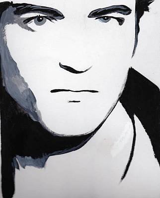 Poster featuring the painting Robert Pattinson 5 by Audrey Pollitt