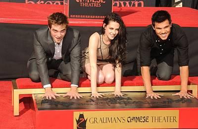 Robert Pattinson, Kristen Stewart Poster by Everett