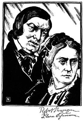 Robert Schumann (1810-1856) Poster by Granger