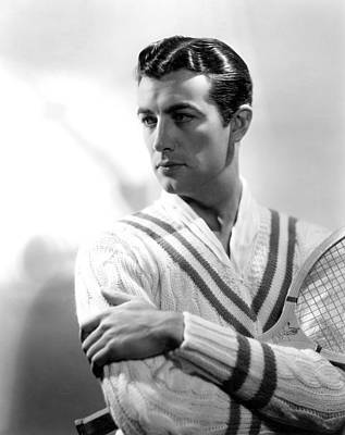 Robert Taylor, Photo Dated 1935. Photo Poster by Everett