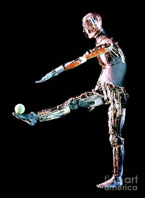 Robot Mannequin Used To Test Protective Poster by DOE / Science Source