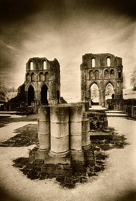 Roche Abbey Poster by Simon Marsden