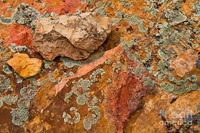 Rock Abstract IIi Poster