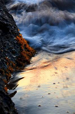 Rock Sunset Poster
