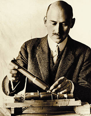Rocket Pioneer, Robert H. Goddard Poster by Nasa