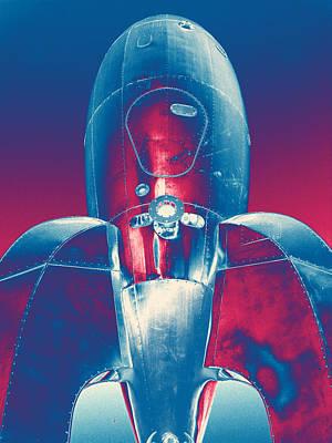Rocket Ship 2 Poster by Samuel Sheats