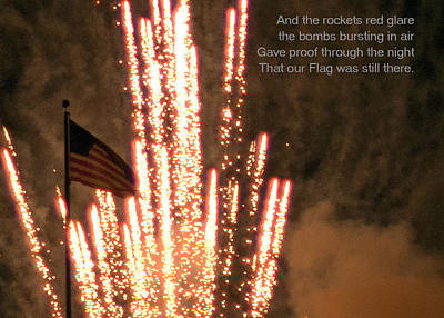 Rockets Red Glare Poster