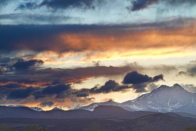 Rocky Mountain Springtime Sunset 2 Poster