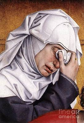 Rogier Van Der Weyden Desposition Poster by Pg Reproductions