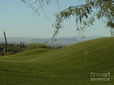Rolling Hills Above Downtown Poster by Rincon Road Photography By Ben Petersen