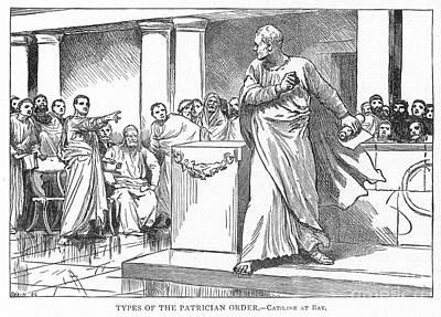 Roman Senate: Catiline Poster by Granger