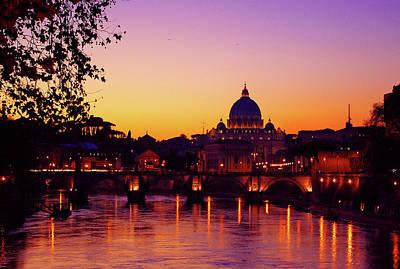 Roman Sunset Poster