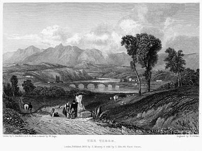 Rome: Milvian Bridge, 1833 Poster
