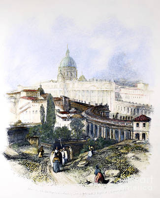 Rome: The Vatican, 1834 Poster