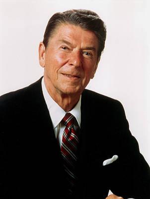 Ronald Reagan, Portrait, C. 1980s Poster