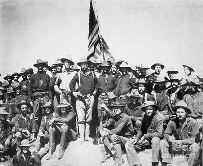 Roosevelt & Rough Riders Poster by Granger