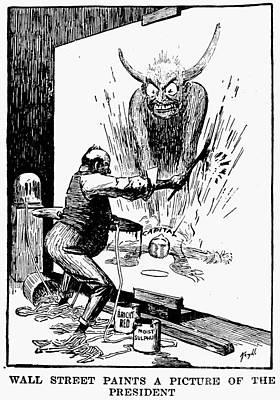 Roosevelt Cartoon, 1906 Poster by Granger