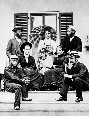 Roosevelt Family 1878 Poster