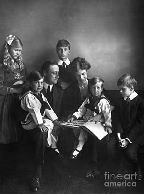 Roosevelt Family, 1919 Poster