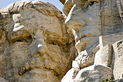Roosevelt On Mt Rushmore National Monument Poster