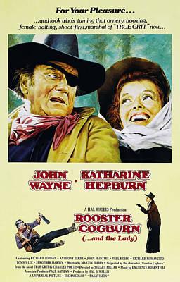 Rooster Cogburn, John Wayne, Katharine Poster
