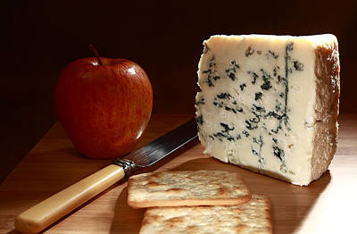 Roquefort And Apple Low Angle Poster by Paul Cowan