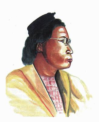 Rosa Parks Poster by Emmanuel Baliyanga