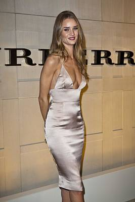 Rosie Huntington-whiteley At Arrivals Poster by Everett