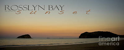Poster featuring the photograph Rosslyn Bay Sunset by Vicki Ferrari