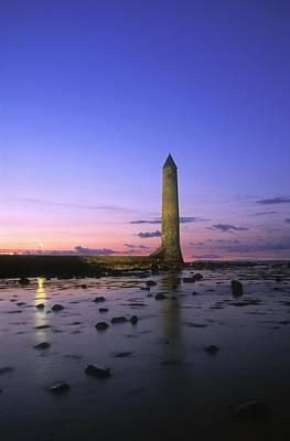Round Tower, Larne, Co Antrim, Ireland Poster