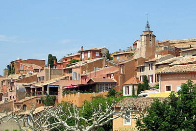 Poster featuring the photograph Roussillon In Provence by Carla Parris
