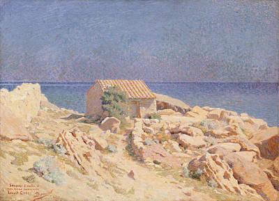 Roussillon Landscape Poster by Georges Daniel de Monfreid
