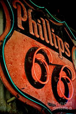 Route 66 Sign Poster