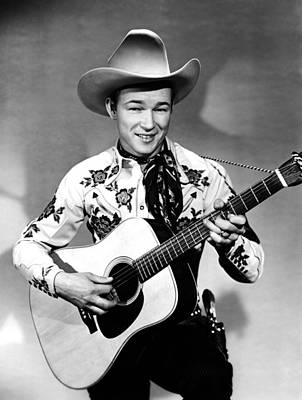 Roy Rogers, C. 1940s Poster by Everett