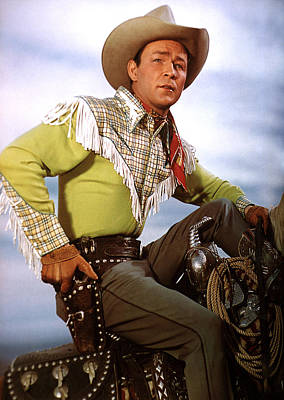 Roy Rogers, C. Late 1940s-early 1950s Poster by Everett
