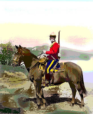 Royal Canadian Mounted Police Poster