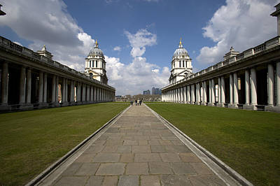 Royal Naval College Poster by Lonely Planet