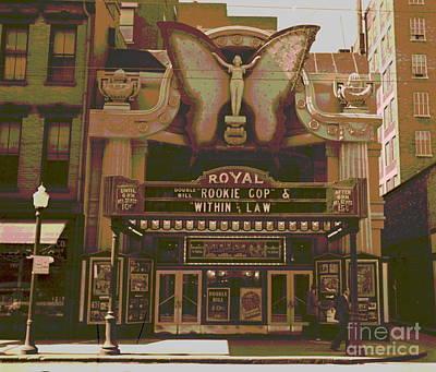 Royal Theater Cincinnati Poster by Padre Art