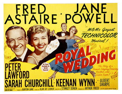 Royal Wedding, Fred Astaire, 1951 Poster by Everett