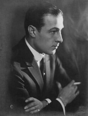 Rudolph Valentino, 1920s Poster