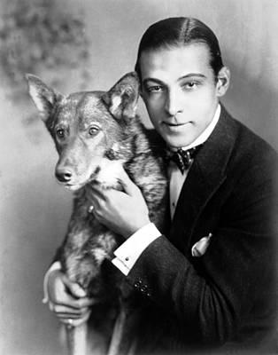 Rudolph Valentino, Circa 1920s Poster by Everett
