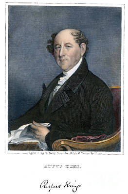 Rufus King (1755-1827) Poster by Granger