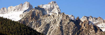 Rugged Mountain Peaks Poster