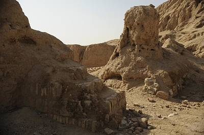 Ruins Of The Ancient City Of Ashur Poster