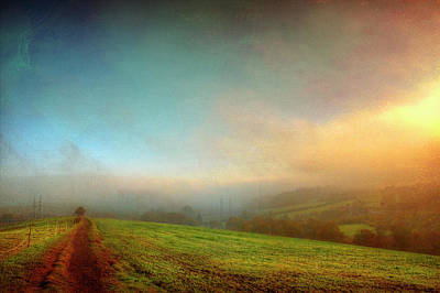 Rural Road Leading Through Fields Poster by Dirk Wüstenhagen Imagery