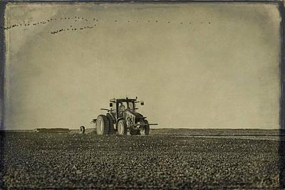 Rural Texas Morning Poster