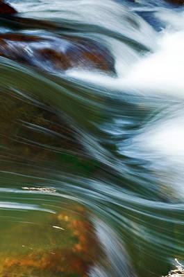 Rushing Water I Poster