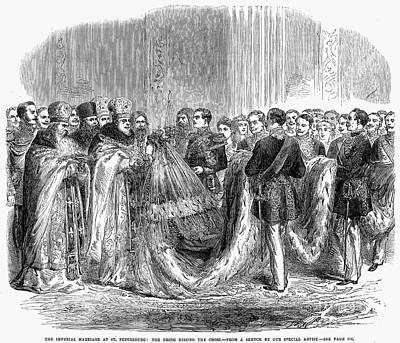 Russia: Royal Wedding, 1866 Poster
