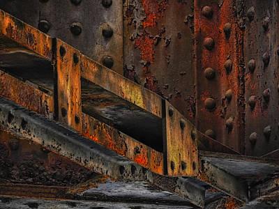 Rust And Oxydation Poster by Joachim G Pinkawa