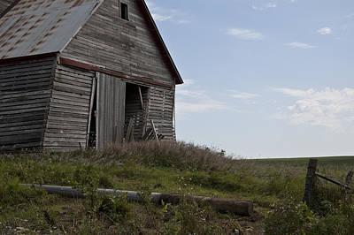 Rustic Barn Still Standing Poster by Wilma  Birdwell